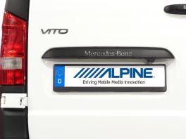 Alpine KIT-R1V447 Kit di montaggio retrocamere Alpine HCE per Mercedes Nuovo Vito 447