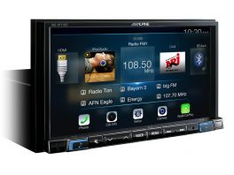"Alpine INE-W710D Media Station 7"" con Navi, Bluetooth, App CarPlay e Android Auto"