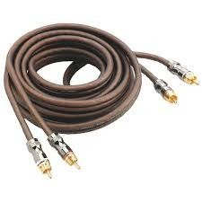 Focal ER 1 Cavo RCA da 1 mt per amplificatori HIGH END