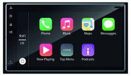 "Phonocar VM011 autoradio 2 DIN Apple CarPlay Android Auto 6.75"" senza meccanica"