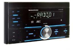 Macrom M-DL3200 autoradio 2 DIN AM/FM, SD/USB, BLUETOOTH