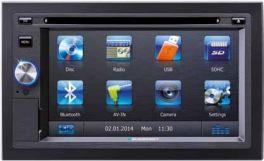 Blaupunkt SAN DIEGO 530 WORLD autoradio 2 Din, Bluetooth e GPS, BLK209