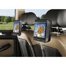 """NEXT BASE 9 DUO CAR doppio monitor 9"""" poggiatesta con Lettore DVD, USB, Connessioni A/ V e Cuffie, Staffe fisse"""