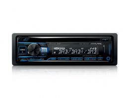 Alpine CDE-205DAB+ANT Autoradio 1 Din con CD, USB, Radio DAB+ e Bluetooth + Antenna kae-242 inclusa