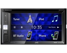 "JVC KW-V250BT autoradio 2 DIN media station DVD/CD/USB Receiver 6.2"" WVGA e Bluetooth"