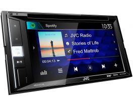JVC KW-V255DBT autoradio 2 DIN DVD/CD/USB con DAB+ e Bluetooth
