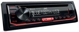 JVC KD-T702BT Autoradio 1 DIN con lettore CD, Bluetooth® e USB/ingresso AUX frontali