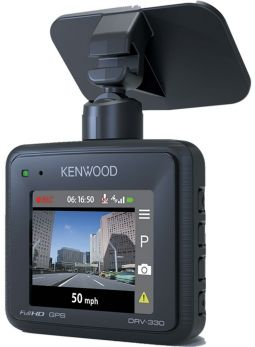 Kenwood DRV-330 Dashcam Full HD con display da 2 pollici