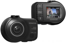 Kenwood DRV-430 Dashcam Full HD con GPS e  display da 1,5 pollici