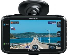 Kenwood DRV-830 Dashcam Quad HD in HDR con GPS e  display da 3 pollici
