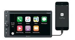 Sony XAV-AX205DB + antenna DAB  Autoradio 2 DIN Android Auto, Apple carplay, DAB+, DVD, Bluetooth