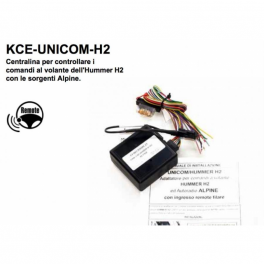 Alpine KCE-UNICOM-H2 Interfaccia comandi al volante Hummer serie 2