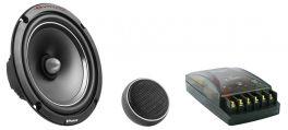 Kit sistema altoparlanti a 2 vie Evolution Phonocar 02687 140W Woofer 165mm(6,5'')+Tweeter+Crossover