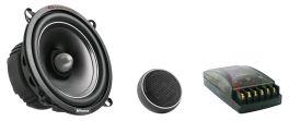 Kit sistema altoparlanti a 2 vie Evolution Phonocar 02684 100W Woofer 130mm(5'')+Tweeter+Crossover
