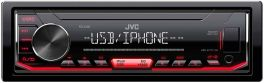 JVC KD-X262 autoradio 1 DIN con USB, il controllo diretto iPod e iPhone, Android Music Control