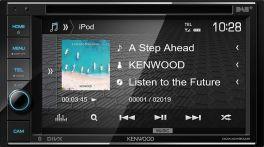 Kenwood DDX4019DAB autoradio 2 DIN da 6.2'' con Bluetooth, DAB+, Spotify, iPod