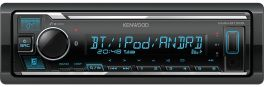 Kenwood KMM-BT305 autoradio con Bluetooth, DSP audio, Spotify, USB, AUX-IN, Android smartphone