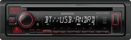 Kenwood KDC-BT430U autoradio Bluetooth, USB, Spotify, smartphone Android