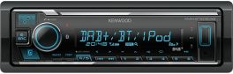 Kenwood KMM-BT505DAB autoradio 1 DIN con DAB+, Bluetooth, Spotify,USB