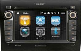 XZENT X-F220 media station per FIAT DUCATO, Peugeot Boxer, Citroen Jumper