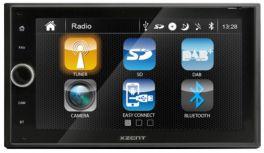 XZENT X-222 autoradio 2 DIN con GPS, DAB +, SD, BLUETOOTH, USB, HDMI