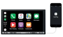 Sony XAV-AX3005DAB + antenna DAB autoradio 2 DIN con DAB, Apple Car Play, Android Auto