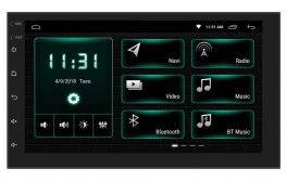 "Phonocar VM001E Media Station Deckless ANDROID 7"" Bluetooth, GPS con mappe EUROPA , MIRROR LINK"