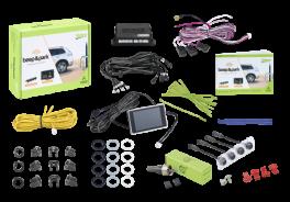 Valeo BEEP & PARK 5 - kit sensori parcheggio anteriore e posteriore 8 sensori con display