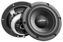 Eton RSE 80 midrange 8cm HIGH END made in Germany (COPPIA)