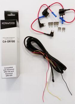 Kenwood CA-DR100 Cavo di alimentazione per Dashcam DRV-430 e DRV-830