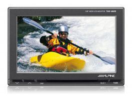"""Alpine TME-M680EM Monitor a colori  5,8"""" + Kit installazione 2 Aux input + 1 Aux input/output"""