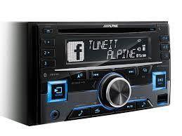 Alpine CDE-W296BT Autoradio SintoCD 2 DIN USB AUX MP3 WMA AAC  SIRI TUNEIT