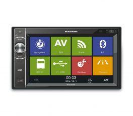 MACROM M-DL5000 Autoradio 2 DIN USB/SDHC GPS e Bluetooth integrati (NO CD/DVD)