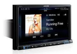 "Alpine X801D-U Autoradio monitor 8"" Advance Navi Station Navi Senza Meccanica BT / DAB+ Ingresso HDMI"
