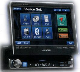 Alpine IVA-D511R MOBILE MEDIA STATION Autoradio 1 DIN lettore DVD/MP3
