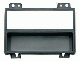 Mascherina 1-2 DIN per Ford Fiesta 02-05 Fusion 05- Transit 06-07 colore nero