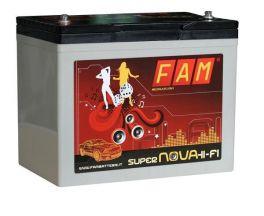 Batteria FAM 80 SuperNova ALTA 80Ah Hi-Fi AGM