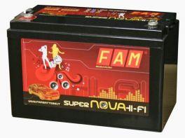 Batteria FAM 140 SuperNova 140Ah HI-FI SPL, 2100A