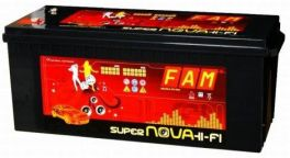 Batteria FAM 260 SuperNova 260Ah Hi-Fi SPL tecnologia AGM
