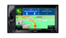 CLARION NX302E Autoradio 2 DIN Navigatore GPS Bluetooth Parrot NO CD/DVD iPhone, iPod , USB *NEW* SI CONTRASSEGNO