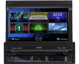 "Clarion NZ502E Autoradio 1 DIN con BLuetooth e GPS integrati 7"" TOUCHSCREEN MP3 DVD IPOD Iphone"