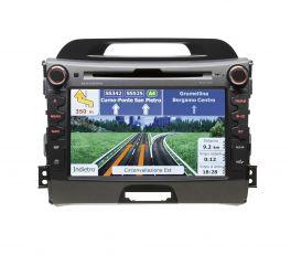 MACROM M-OF7040 Autoradio per Kia Sportage con GPS e bluetooth