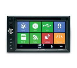MACROM M-DVD5566 Autoradio 2 DIN DOPPIA USB GPS Bluetooth