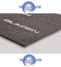 Guaina insonorizzante GLADEN Aero-Foam composto da schiuma solida con un adesivo posteriore di 5mm di spessore.