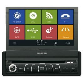 "MACROM M-DVD6560 Autoradio GPS Monitor 7""  MP3 + DVD/ AVI USB+AV , vivavoce bluetooth"