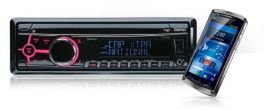 Clarion CZ505E Autoradio Ipod, Iphone, DAB / Bluetooth / CD / USB / MP3 / WMA