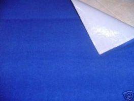 MOQUETTE ACUSTICA ADESIVA BLU cm. 140 X 70