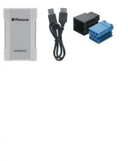 Interfaccia iPOD-iPHONE-USB-SD CD Changer Audi-Seat-Skoda-VW Phonocar 05881