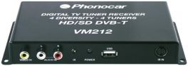 Phonocar VM212 Sintonizzatore TV DVB-T HD 4 Antenne Diversity