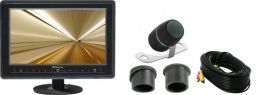 Phonocar VM162 Kit Monitor + Retro Camera TFT/LCD 7''